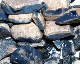 310 GRAMS MINTABIE BLACK OPAL POTCH PARCEL [BRP249]
