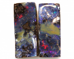 27CTS BOULDER OPAL PAIR TBO-A2043