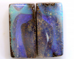 19.25CTS BOULDER OPAL PAIR TBO-A2048