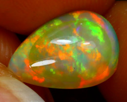 Welo Opal 2.95Ct Natural Ethiopian Play of Color Opal HN54/R2