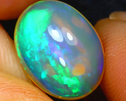 Welo Opal 2.92Ct Natural Ethiopian Play of Color Opal H1008/A44