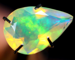 1.47cts Natural Ethiopian Faceted Welo Opal / BF3784