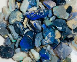 Bright Black Seam Opals - Good Potential/Small Cutters