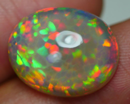 8.785 CRT AMAZING FLORAL HONEYCOMB RAINBOW FIRE DELUXE COLOR WELO OPAL-