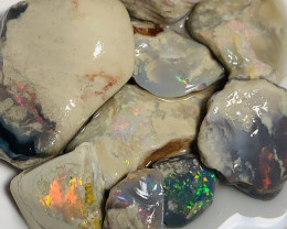 Bright Colours- 90 CTs Rough Nobby With Nice Colours to Explore#1643