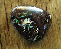 24cts. OUTBACK QUEENSLAND OPAL~DRILLED STONE..