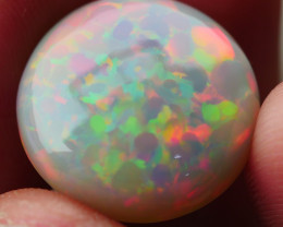 11.590CRT BRILLIANT BRIGHT RAINBOW SPIDER WELO OPAL MOTIF -