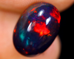 3.20cts Natural Ethiopian Welo Smoked Opal / HM1011
