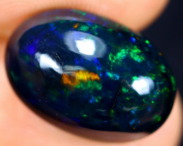 5.13cts Natural Ethiopian Welo Smoked Opal / HM1019