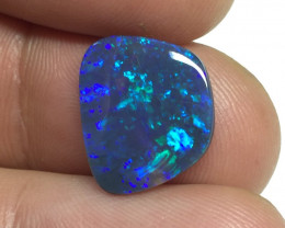 2,99 cts - Black opal from Mulga Field - Lightning Ridge