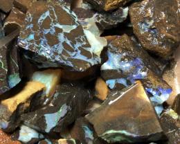 2.14kg Bargain Boulder Opal Rough Parcel