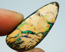 16.70CT WOOD REPLACEMENT BOULDER OPAL BJ370