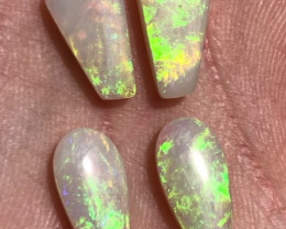 8.3cts Lightning Ridge light opal pairs