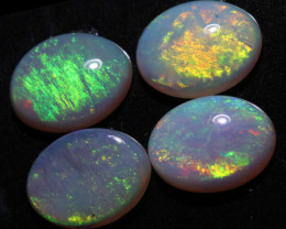 3.46 CTS  8x6  WHITE FIRE OPAL PARCEL CALIBRATED [CP7340]