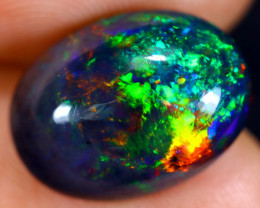 4.07cts Natural Ethiopian Welo Smoked Opal / HM1061