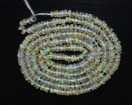 17.45 Ct Natural Ethiopian Welo Opal Beads Play Of Color OB28