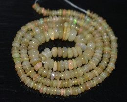 31.65 Ct Natural Ethiopian Welo Opal Beads Play Of Color OB30
