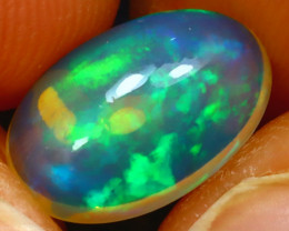 Welo Opal 2.03Ct Natural Ethiopian Play of Color Opal JF1718/A3