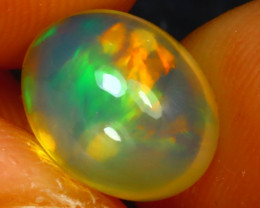 Welo Opal 2.47Ct Natural Ethiopian Play of Color Opal JF1719/A3