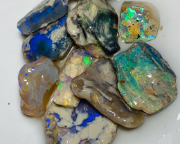 Sharp Bright Dark Crystal Nobby Opals with Nice Cutters