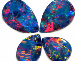 2.22 CTS OPAL DOUBLET PARCEL CALIBRATED  [SEDA7667]