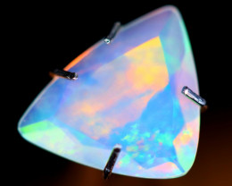 0.92cts Natural Ethiopian Faceted Welo Opal / NY42