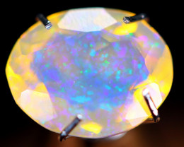 1.45cts Natural Ethiopian Faceted Welo Opal / NY43