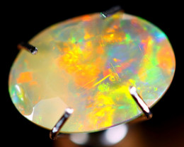 1.18cts Natural Ethiopian Faceted Welo Opal / NY22