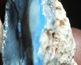 99.59CTS Lightning Ridge Rough/ rubbed/Specimen/Carving GRAL-850
