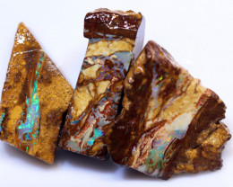 54.73 carats Wood Replacement Boulder Opal Parcel ANO-948
