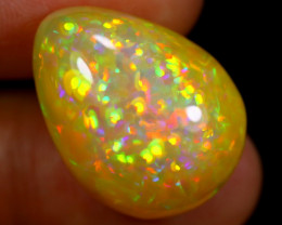 16.68cts Natural Ethiopian Welo Opal / BF4037