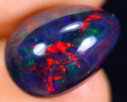 3.72cts Natural Ethiopian Welo Smoked Opal / HM1080