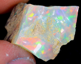 11cts Natural Ethiopian Welo Rough Opal / WR4357