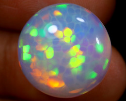 8.26cts Natural Ethiopian Welo Opal / BF4064