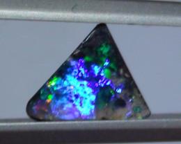 1.25 ct $1 NR Gem Multi Color Boulder Opal ring Stone