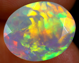 4.25cts Natural Ethiopian Faceted Welo Opal /BF4088