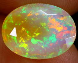 3.53cts Natural Ethiopian Faceted Welo Opal /BF4093