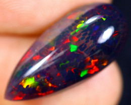 5.21cts Natural Ethiopian Smoked Welo Opal / BF4099