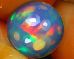 Welo Opal 1.14Ct Natural Ethiopian Play of Color Opal J2307/A28