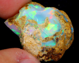 16cts Natural Ethiopian Welo Rough Opal / NY61