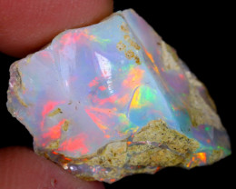 10cts Natural Ethiopian Welo Rough Opal / NY66
