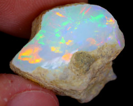 18cts Natural Ethiopian Welo Rough Opal / NY76