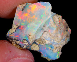 6cts Natural Ethiopian Welo Rough Opal / NY78