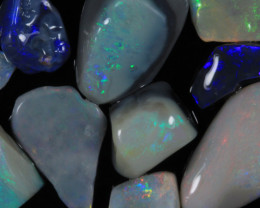 #6 -NO RESERVE!!! Rough Opal from  Lightning Ridge [29442] 53FROGS
