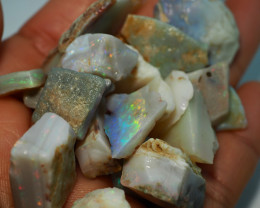 207.00CT QUALITY OPAL ROUGH PARCEL FROM COOBER PEDY BJ404