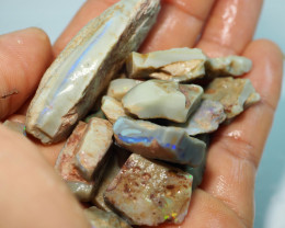 225CT QUALITY OPAL ROUGH PARCEL FROM LIGHTNING RIDGE BJ430