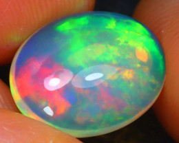 Welo Opal 2.68Ct Natural Ethiopian Play of Color Opal H2405/A44