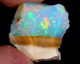 4cts Natural Ethiopian Welo Rough Opal / WR4375