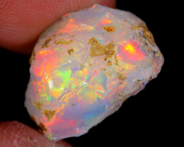 8cts Natural Ethiopian Welo Rough Opal / WR4435