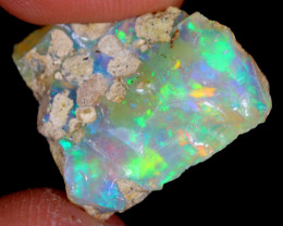 8cts Natural Ethiopian Welo Rough Opal / WR4437